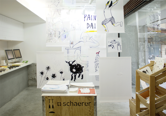 水越設計, 白色插畫展, 水越白色插畫展, daily in white, 都市酵母, CITY YEAST, illustration exhibition, sketch, 授權圖像, PATTERN,